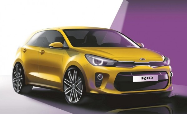 New Kia Rio Teased-1