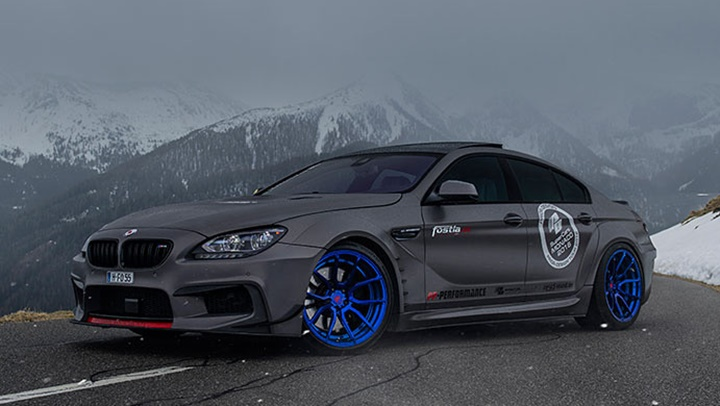 Noble Gray Bmw 6 Series Gran Coupe By Fostla