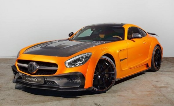Orange Mansory Mercedes AMG GT-0