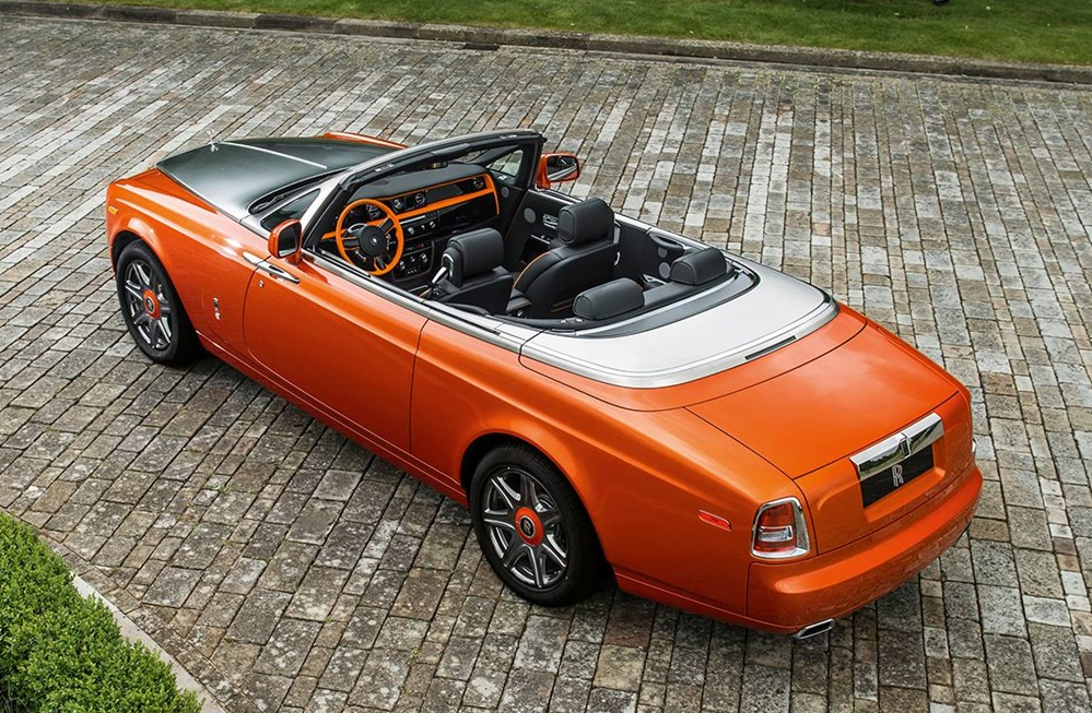 Rolls royce phantom drophead beverly hills edition for Rolls royce of beverly hills