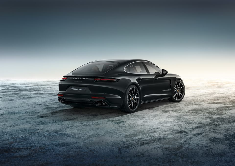 porsche panamera 4s exclusive in black. Black Bedroom Furniture Sets. Home Design Ideas