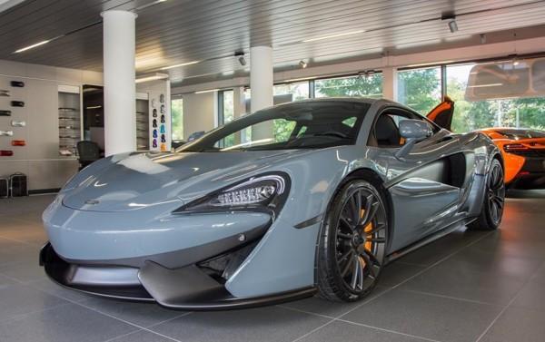 Satin Palladium McLaren 570S MSO-0