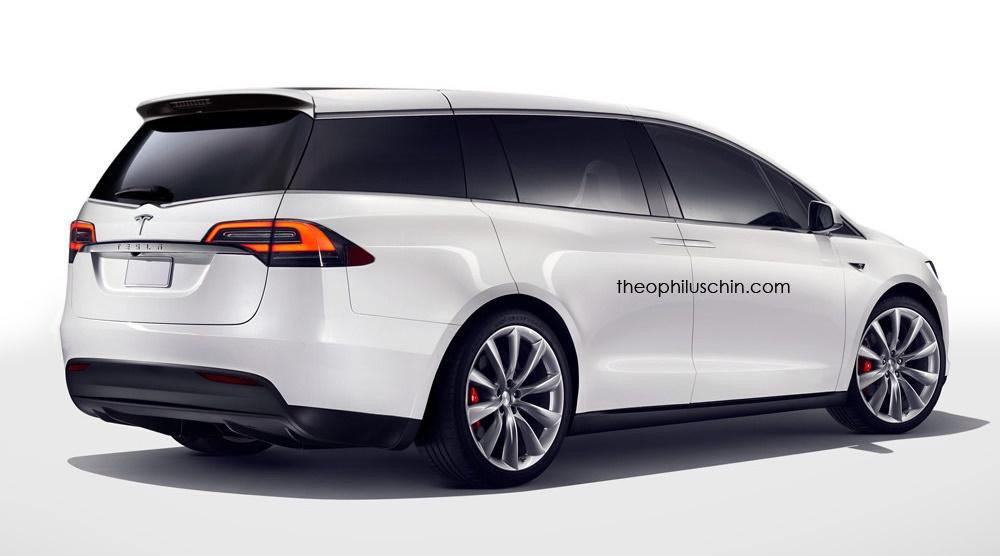 Tesla Minivan Renderings Emerge