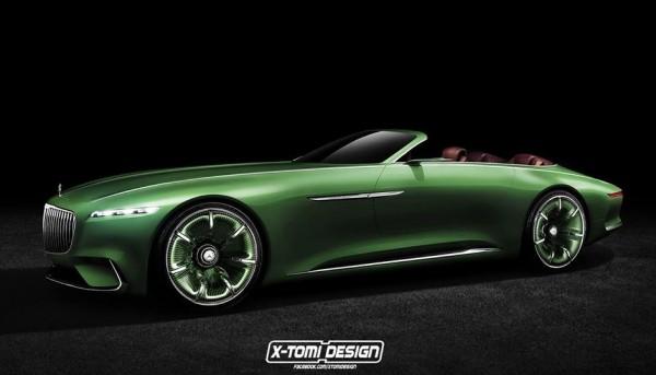 Vision Maybach 6 Cabriolet