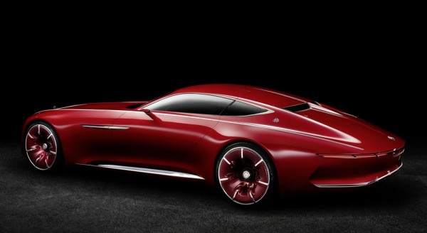 Vision Mercedes Maybach 6 0 600x328 at Vision Mercedes Maybach 6 Goes Official