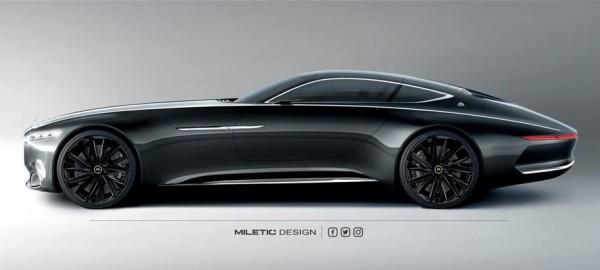Vision Mercedes- Maybach 6 Black