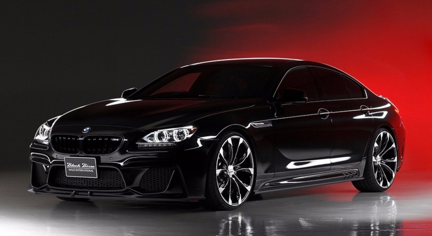 wald bmw 6 series gran coupe revealed in full. Black Bedroom Furniture Sets. Home Design Ideas