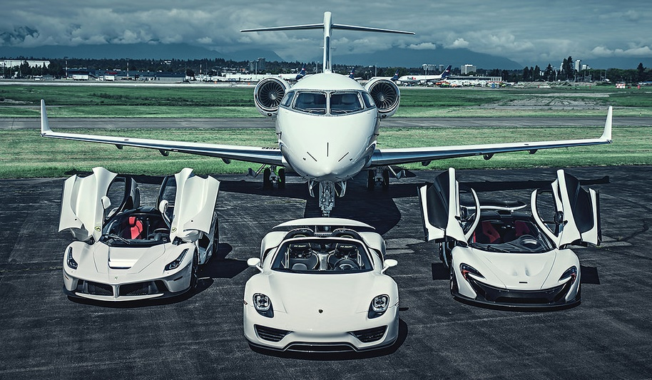 God Is White The Holy Trinity And A Private Jet