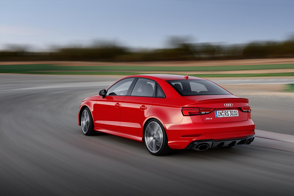 Audi RS3 Sedan Revealed with 400 PS