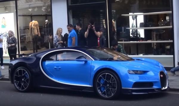 Bugatti Chiron London