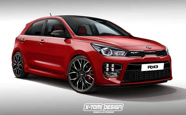 kia rio gt already rendered. Black Bedroom Furniture Sets. Home Design Ideas