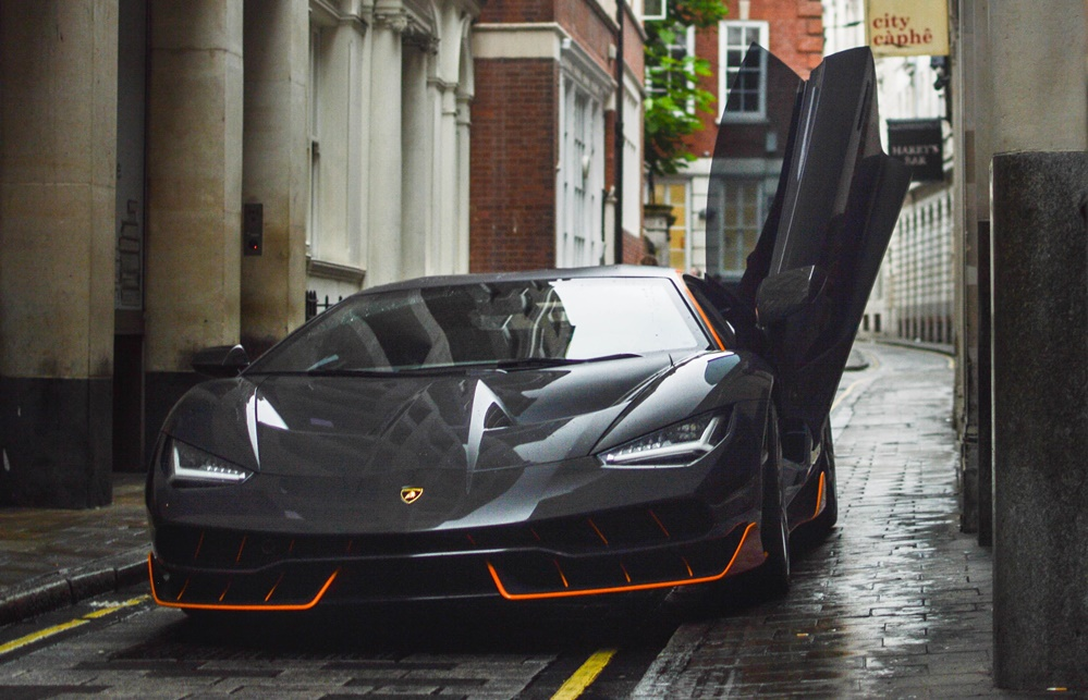 Lamborghini Centenario Spotted On Set Of Transformers