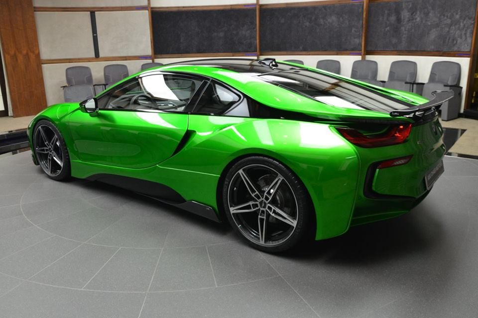 lava green bmw i8 is serious eye candy. Black Bedroom Furniture Sets. Home Design Ideas