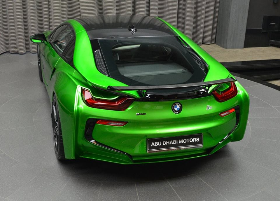 Green Bmw I8 Lava Green Bmw I8 Is Serious Eye Lava Green Bmw I8