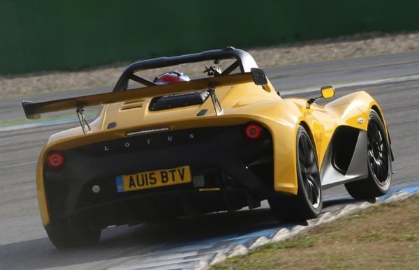 Lotus 3-Eleven Tacking Nurburgring
