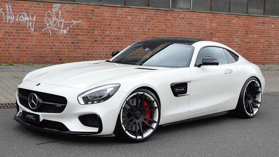 Mec Design Mercedes Amg Gt Tartaros In White