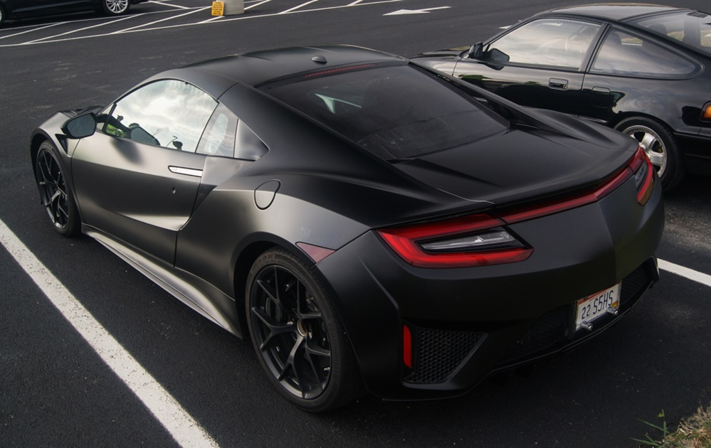 Nissan Columbus Ohio >> Matte Black Acura NSX Sighted in Columbus