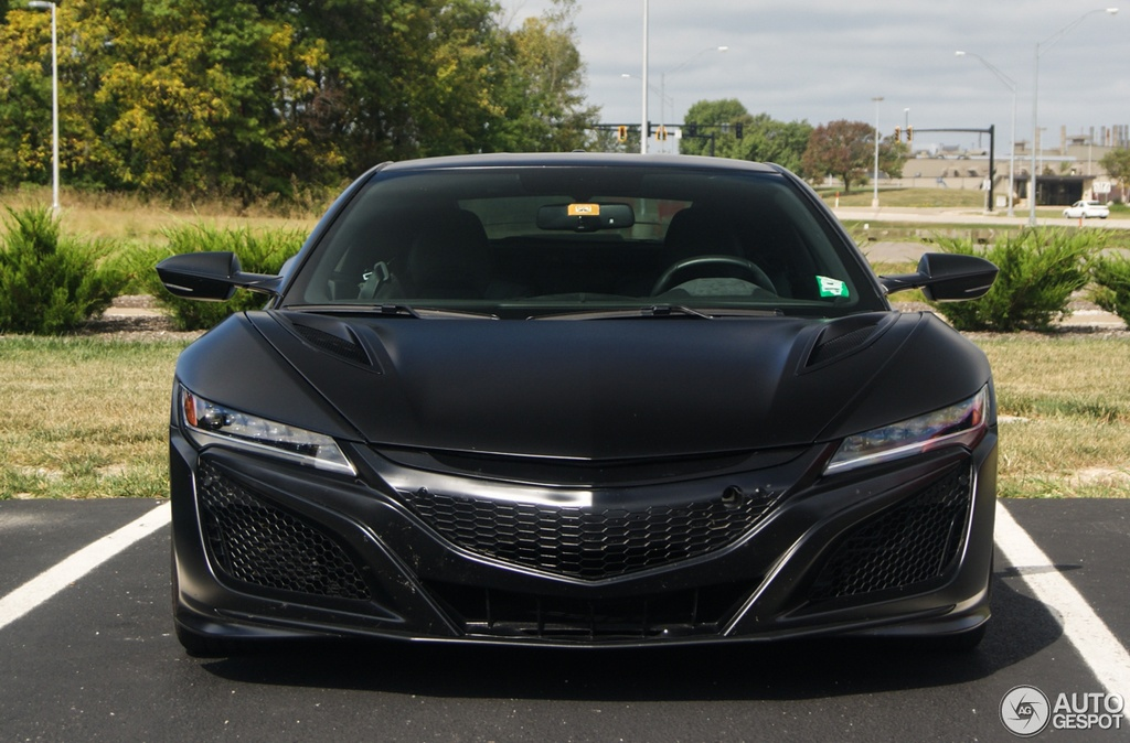 Matte Black Acura NSX Sighted in Columbus