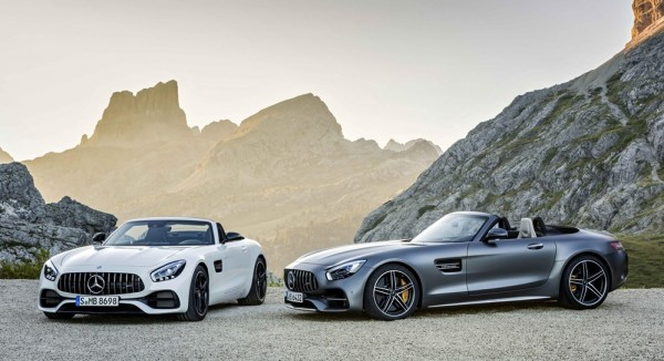 Official: Mercedes AMG GT Roadster