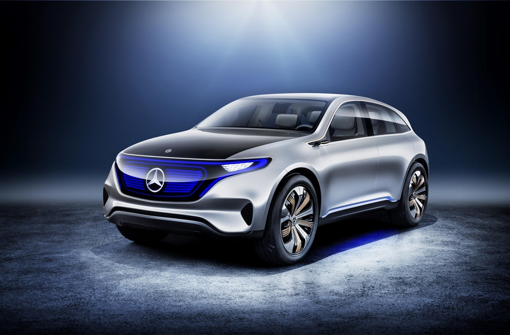 official mercedes benz generation eq concept
