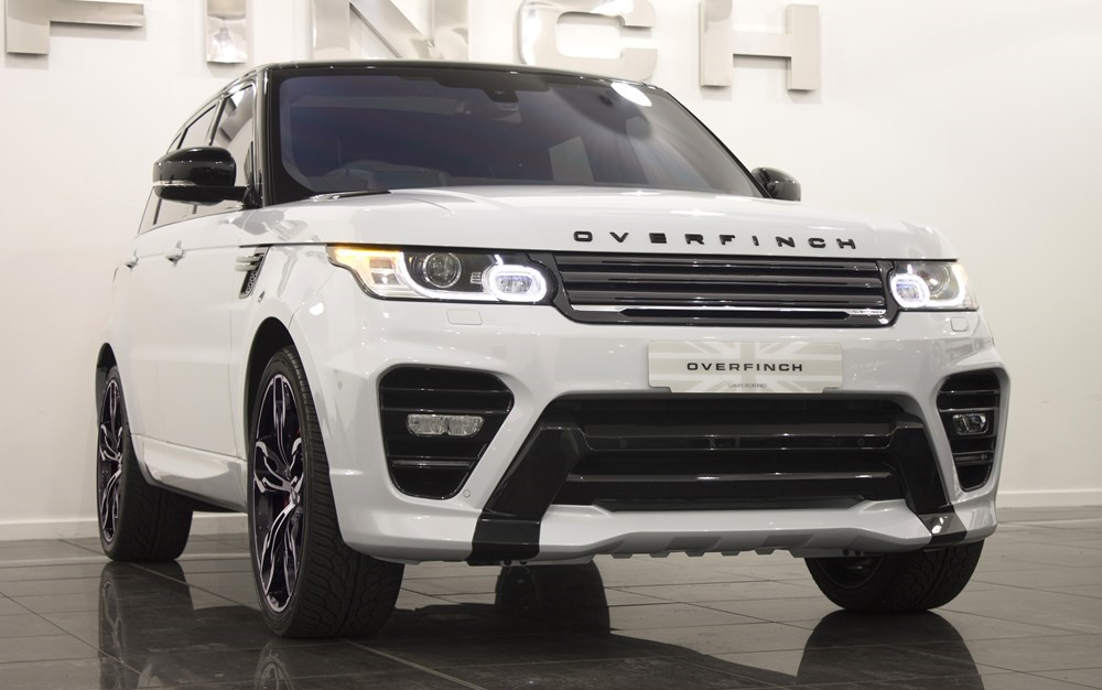 Suv Tesla Interior >> Overfinch Range Rover Sport on Sale for £164K