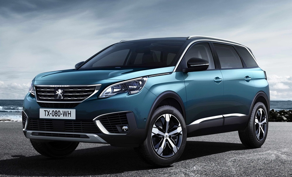 Peugeot 5008 0 at Official: Peugeot 5008