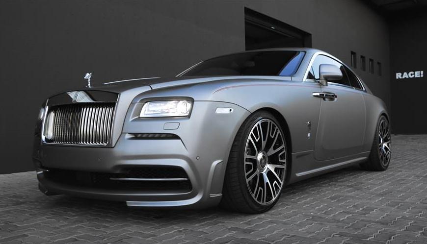 Spofec Rolls Royce Wraith By Race