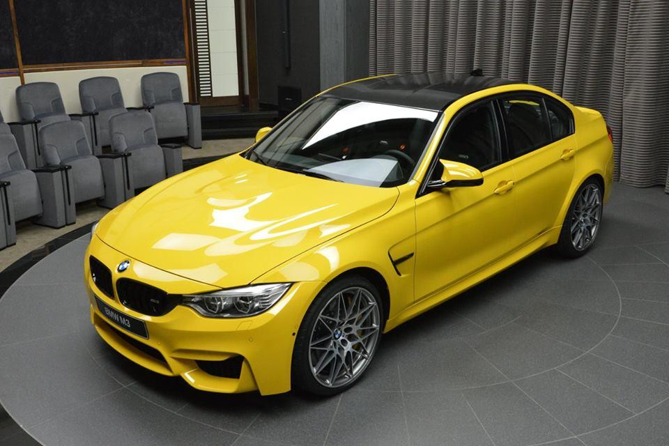 Spotlight Speed Yellow Bmw M3
