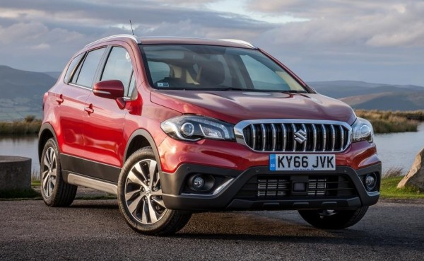 Suzuki S Cross Facelift 1 600x369 at Official: Suzuki S Cross Facelift