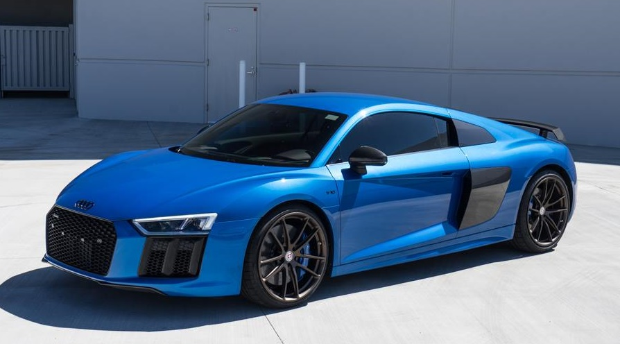 tag motorsports audi r8 in ara blue. Black Bedroom Furniture Sets. Home Design Ideas