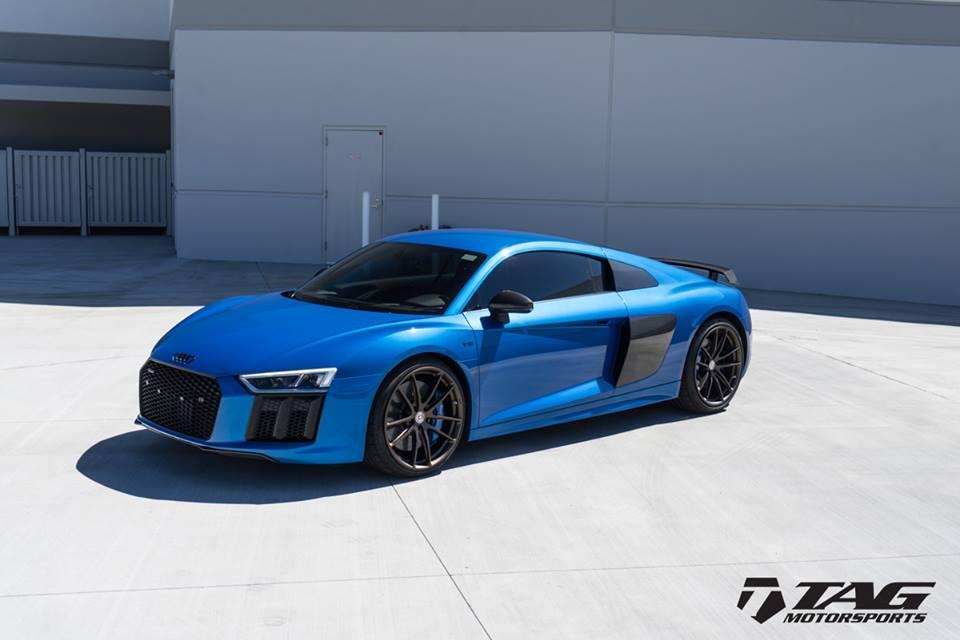 Tag Motorsports Audi R8 In Ara Blue