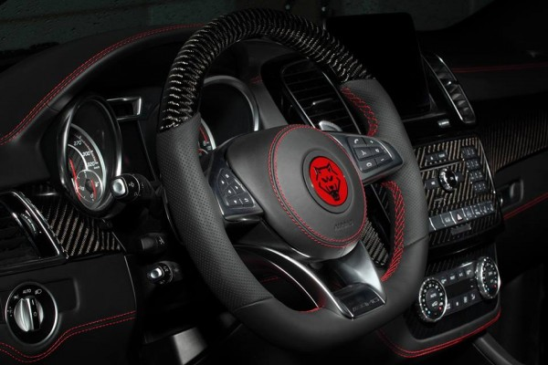 Topcar Mercedes GLE Coupe Interior 0 600x400 at Mercedes GLE Coupe Interior Package by TopCar