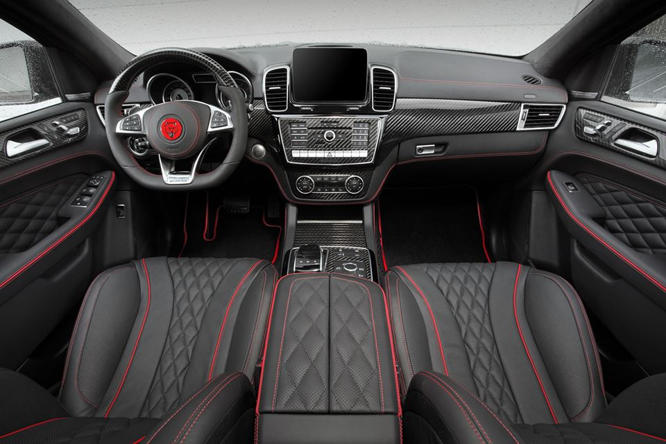 mercedes gle coupe interior package by topcar. Black Bedroom Furniture Sets. Home Design Ideas