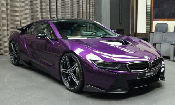 Twilight Purple BMW i8 0 600x360 at Gallery: Twilight Purple BMW i8