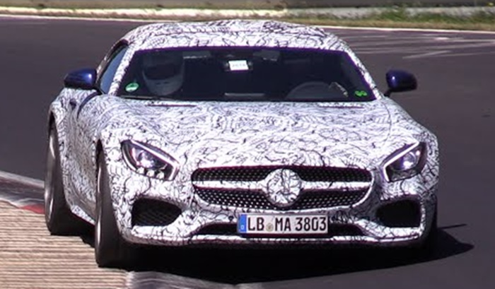 amg gt cabrio at Mercedes AMG GT Cabrio Looks Sprightly at the 'Ring