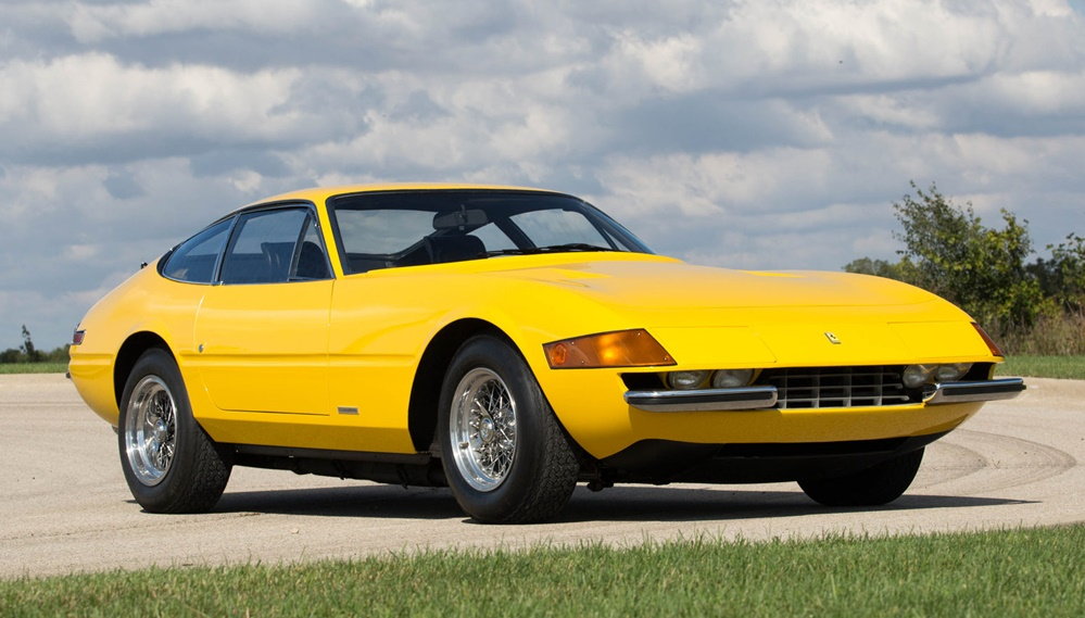 Volvo Of Dallas >> 1973 Ferrari Daytona Headed to Dallas Auction