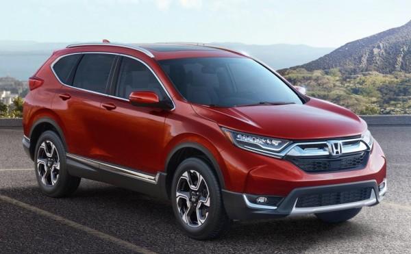 Official: 2017 Honda CR-V