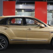 Bentley Bentayga Gold 3 175x175 at Gallery: Bentley Bentayga Looks Dapper in Gold