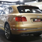 Bentley Bentayga Gold 4 175x175 at Gallery: Bentley Bentayga Looks Dapper in Gold