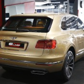 Bentley Bentayga Gold 6 175x175 at Gallery: Bentley Bentayga Looks Dapper in Gold