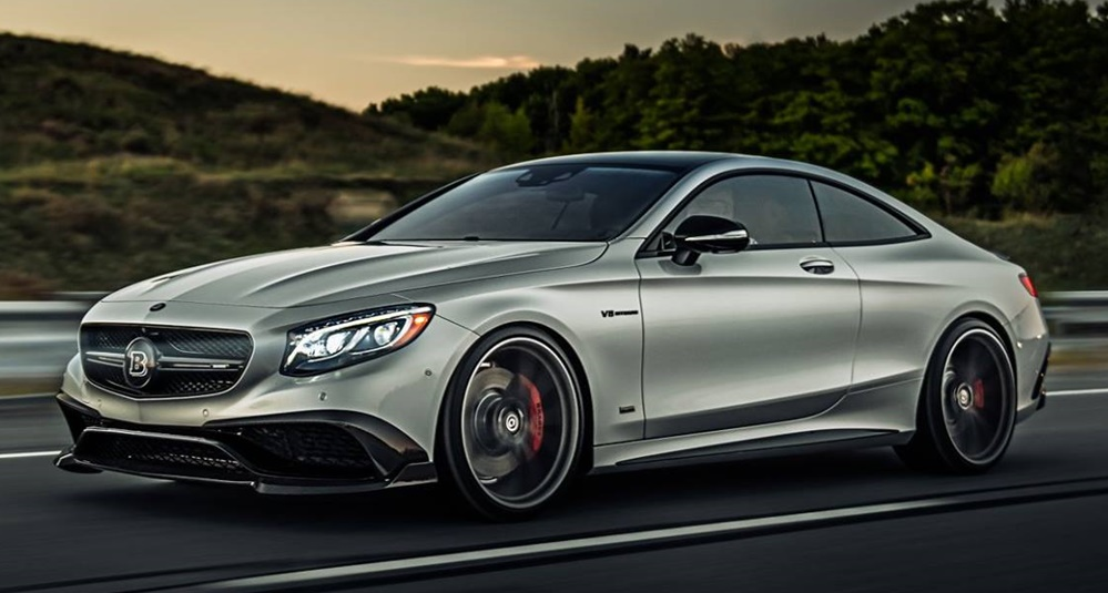 Brabus Mercedes S63 Coupe By Driving Emotions