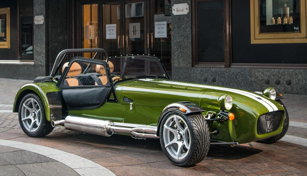 Caterham Seven Harrods Launches Firm S Personalization Program