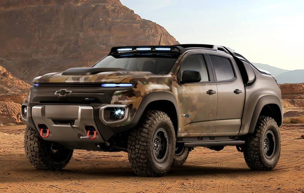 Chevrolet Colorado ZH2 0 at Chevrolet Colorado ZH2 Unveiled at Army Show