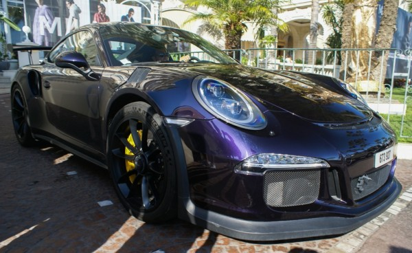 Deep Purple Porsche 991 GT3 RS-0