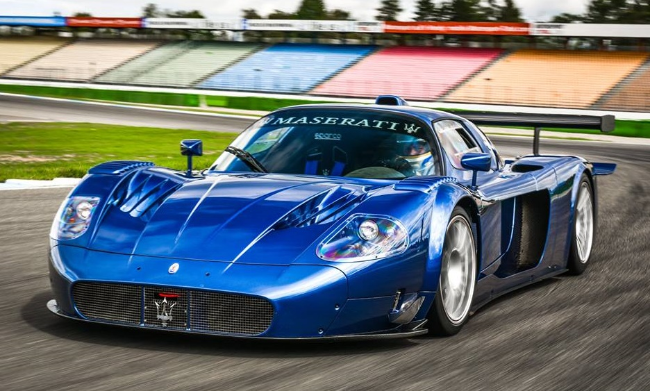 spotlight edo maserati mc12 corsa at hockenheim. Black Bedroom Furniture Sets. Home Design Ideas