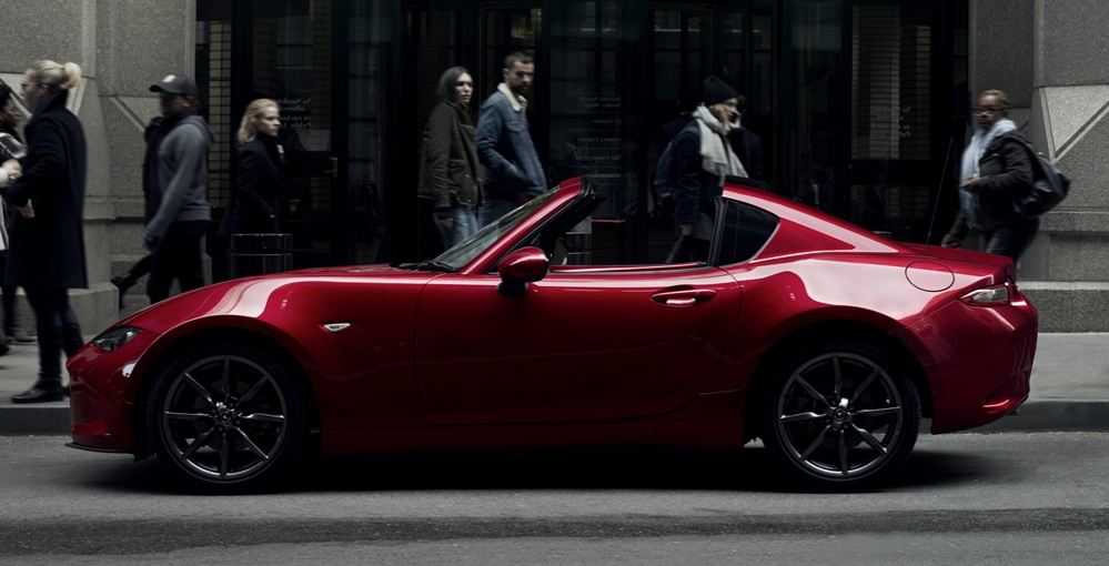 mazda mx 5 rf uk pricing announced. Black Bedroom Furniture Sets. Home Design Ideas