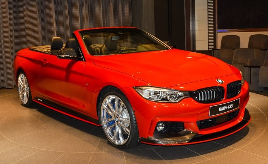 Eye Candy Melbourne Red Bmw 4 Series Convertible
