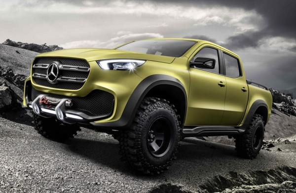 Mercedes X-Class Concept Pickup Truck Unveiled