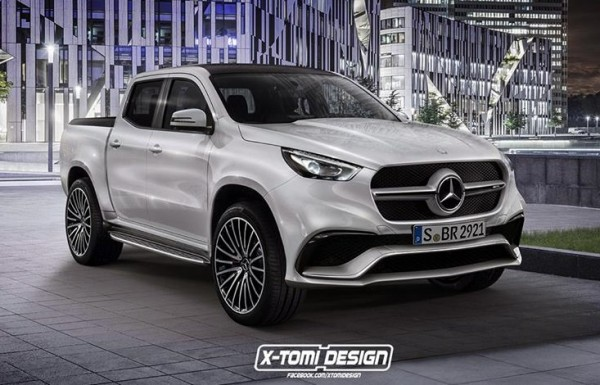 Mercedes X63 AMG Render 600x385 at Rendering: Mercedes X63 AMG