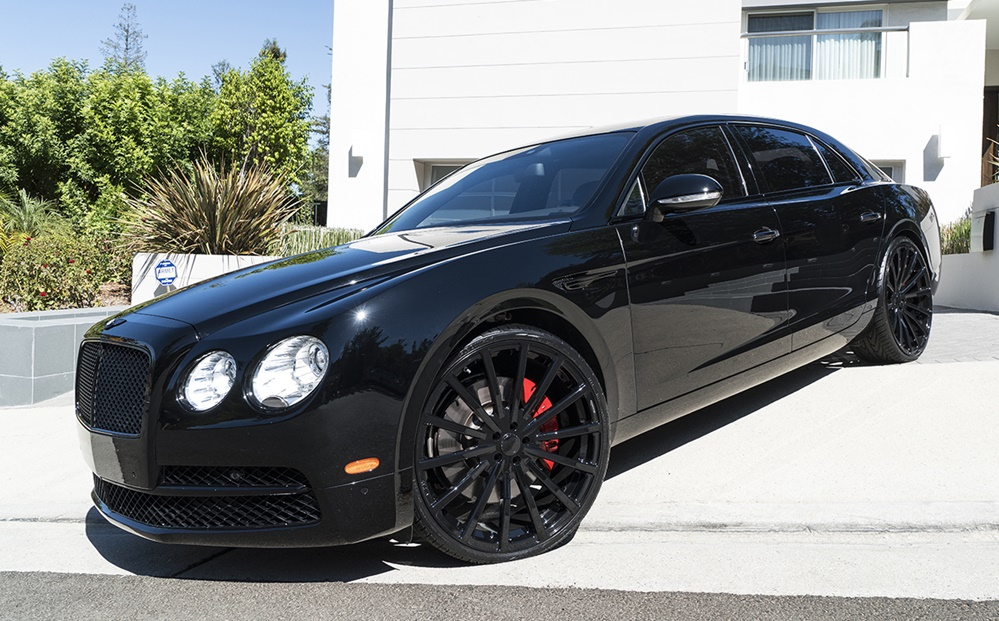 Murdered Out Bentley Flying Spur 0 at Spotlight: Murdered Out Bentley Flying Spur